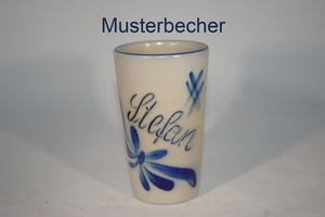 0,25 l Becher mit Text